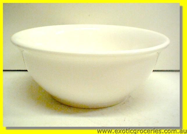 White Thick Rim Bowl 17cm M456