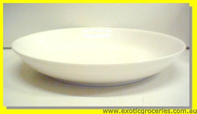 "White Rice Dish 9"" M254B"