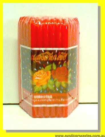 Red Candles 51pcs