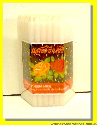 White Candles 51pcs
