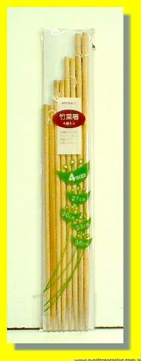 Bamboo Chopsticks 4pairs 4 Sizes (27cm/30cm/33cm/36cm)
