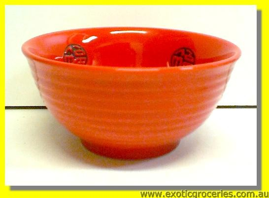 Fortune Red Bowl 15cm