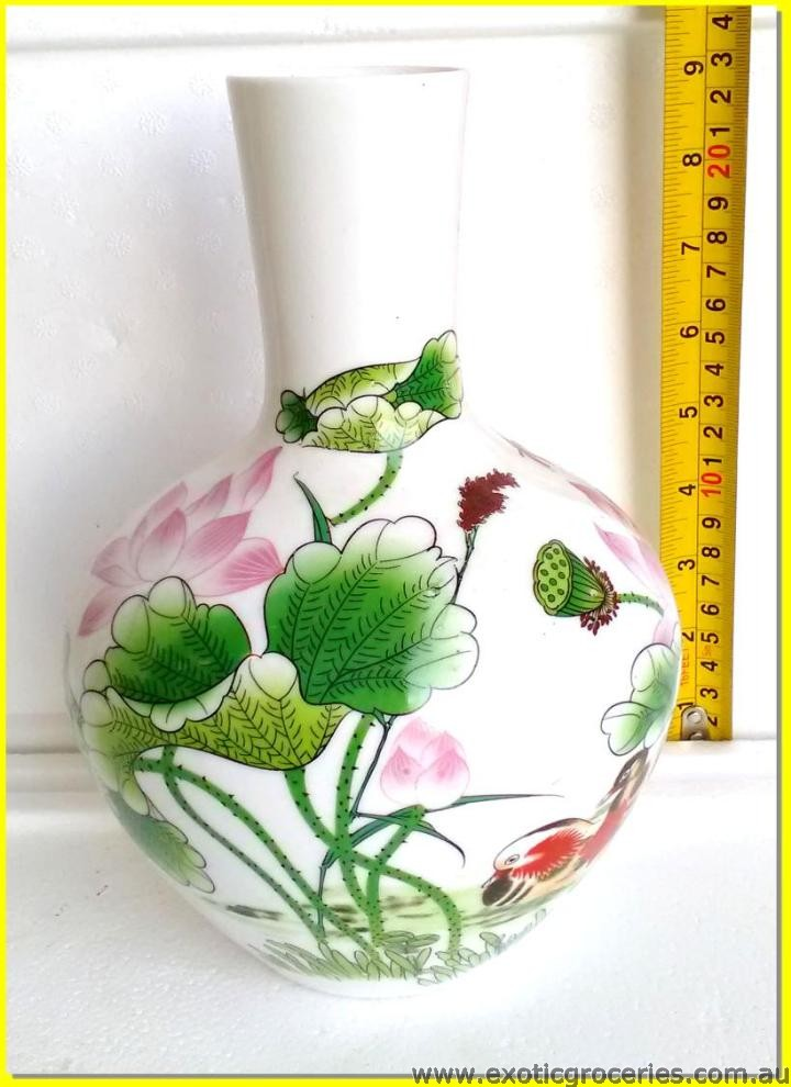 Chinese Vase Lotus Flower