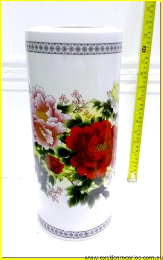 Chinese Floral Vase Tall