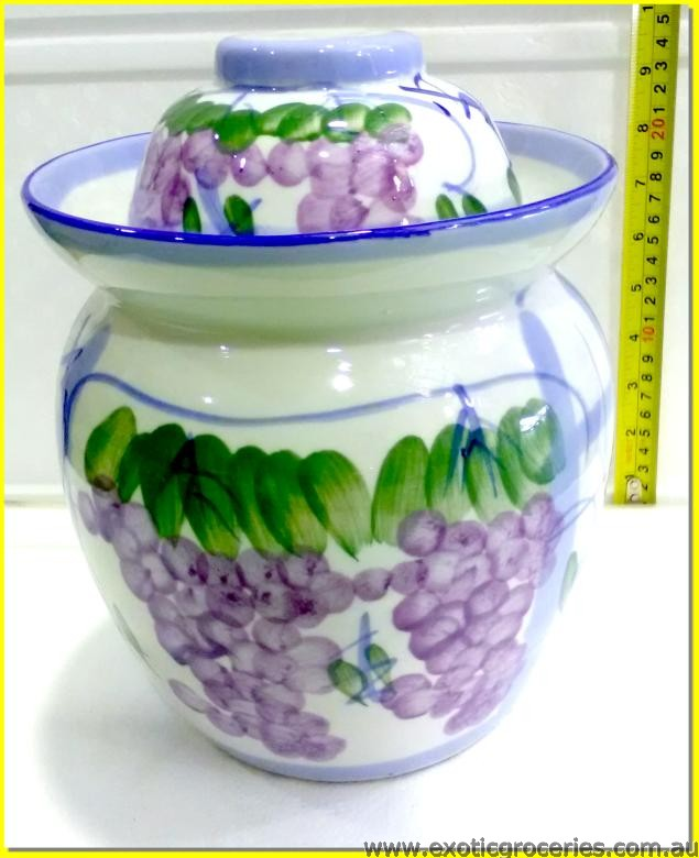 Chinese Pickle Pot Grape