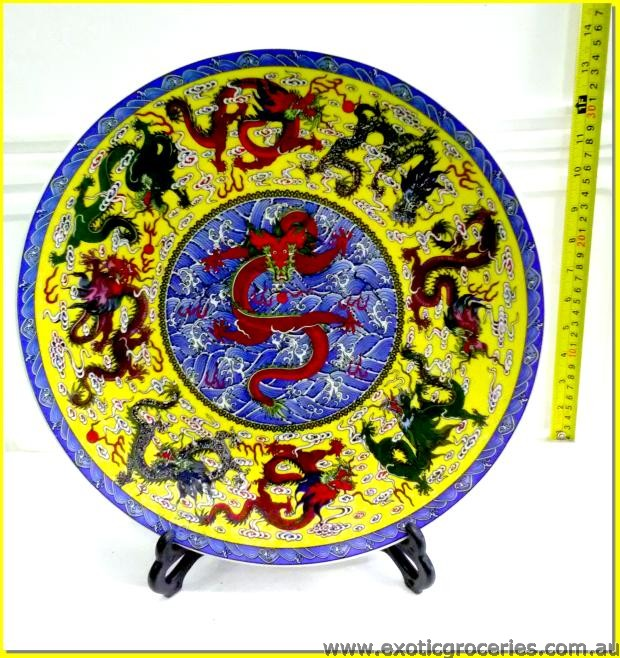 Chinese Plate Dragon