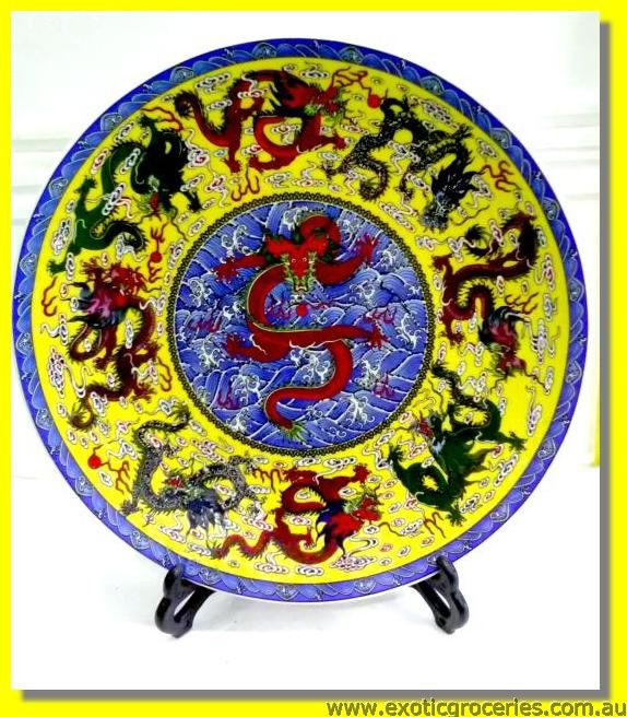 Chinese Plate Dragon large