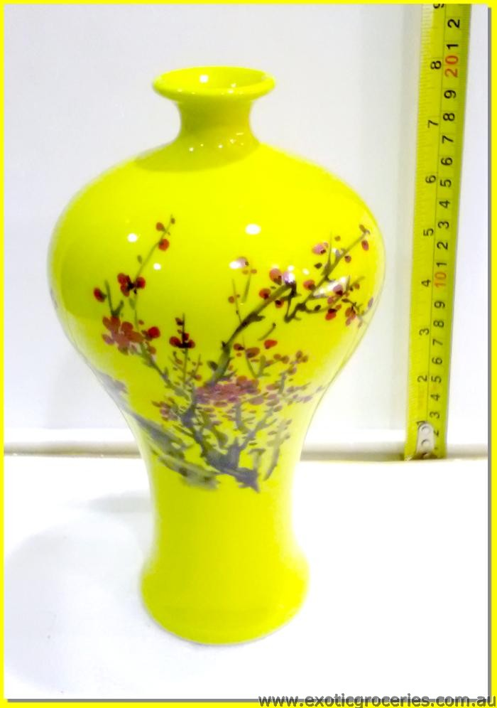 Chinese Vase Yellow