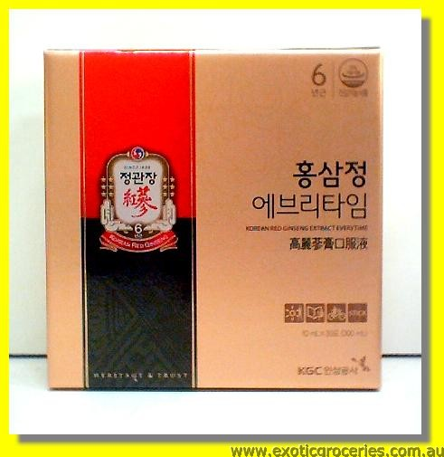 Korea Red Ginseng Extract 10ml x 30sticks