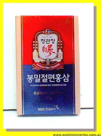 Honeyed Korean Red Ginseng Slices