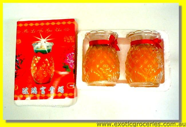 Pineapple Candle 2pcs