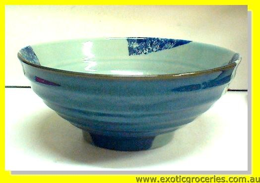 Blue Qing Ming Ceramic Bowl 7.5""