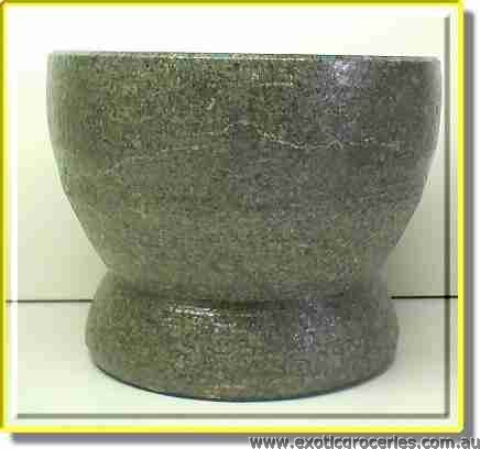 Rock Mortar and Pestle