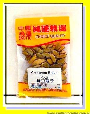 Cardamon Green Pods