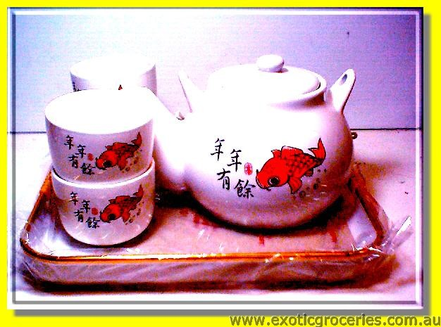 Goldfish Tea Set