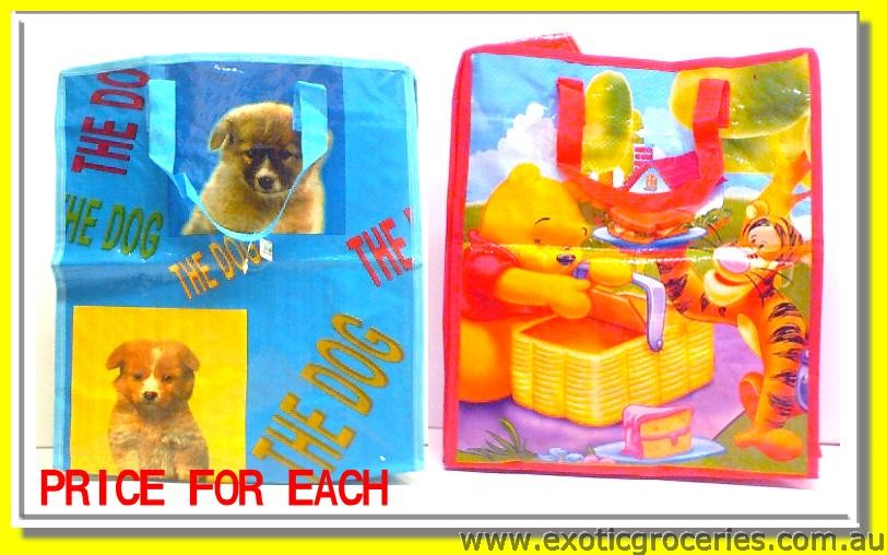 XS Cartoon Plastic Bag