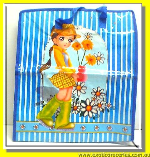 S Cartoon Plastic Bag
