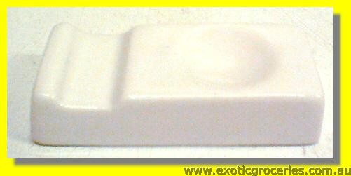 White Chopsticks Spoon Rest 7.2cm