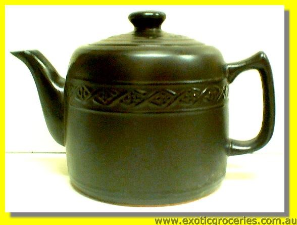 Clay Kettle Black 26CM