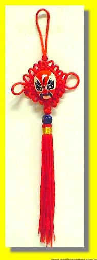 Lucky Chinese Mask Knot