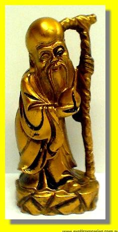 Lucky Fortune Golden Buddha