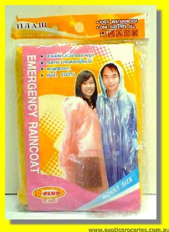 Emergency Rain Coat