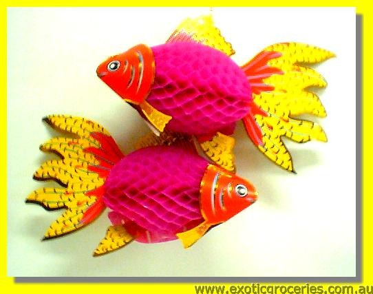 Lucky Fish Lantern 2 Pcs