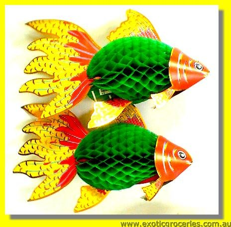Lucky Fish Lantarn 2 Pcs