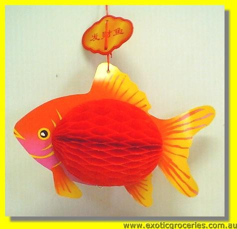 Lucky Fortunr Fish Lantern