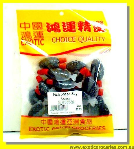 Fish Shape Soy Sauce 30pcs