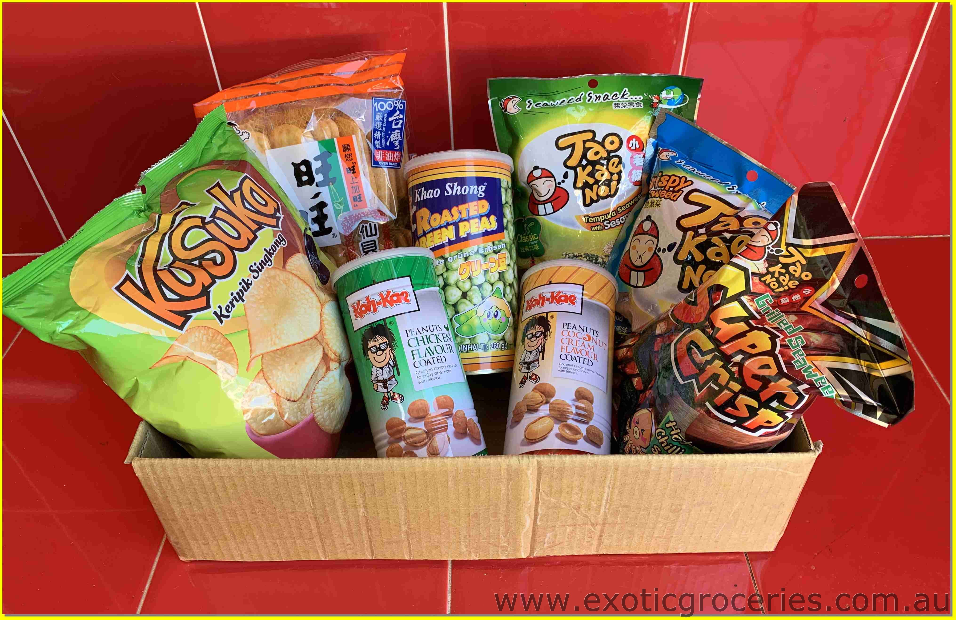 Assorted Snack Gift Box Set A