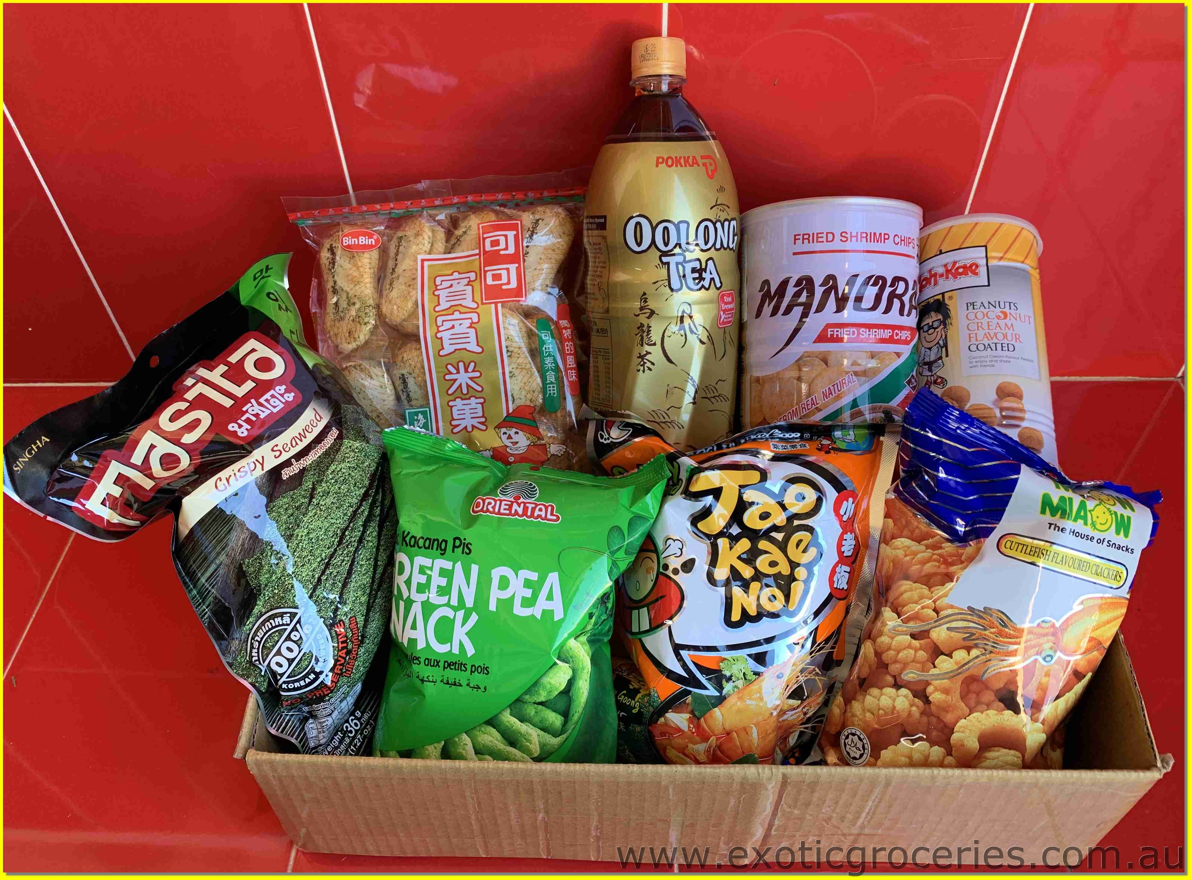 Assorted Snack Gift Box C
