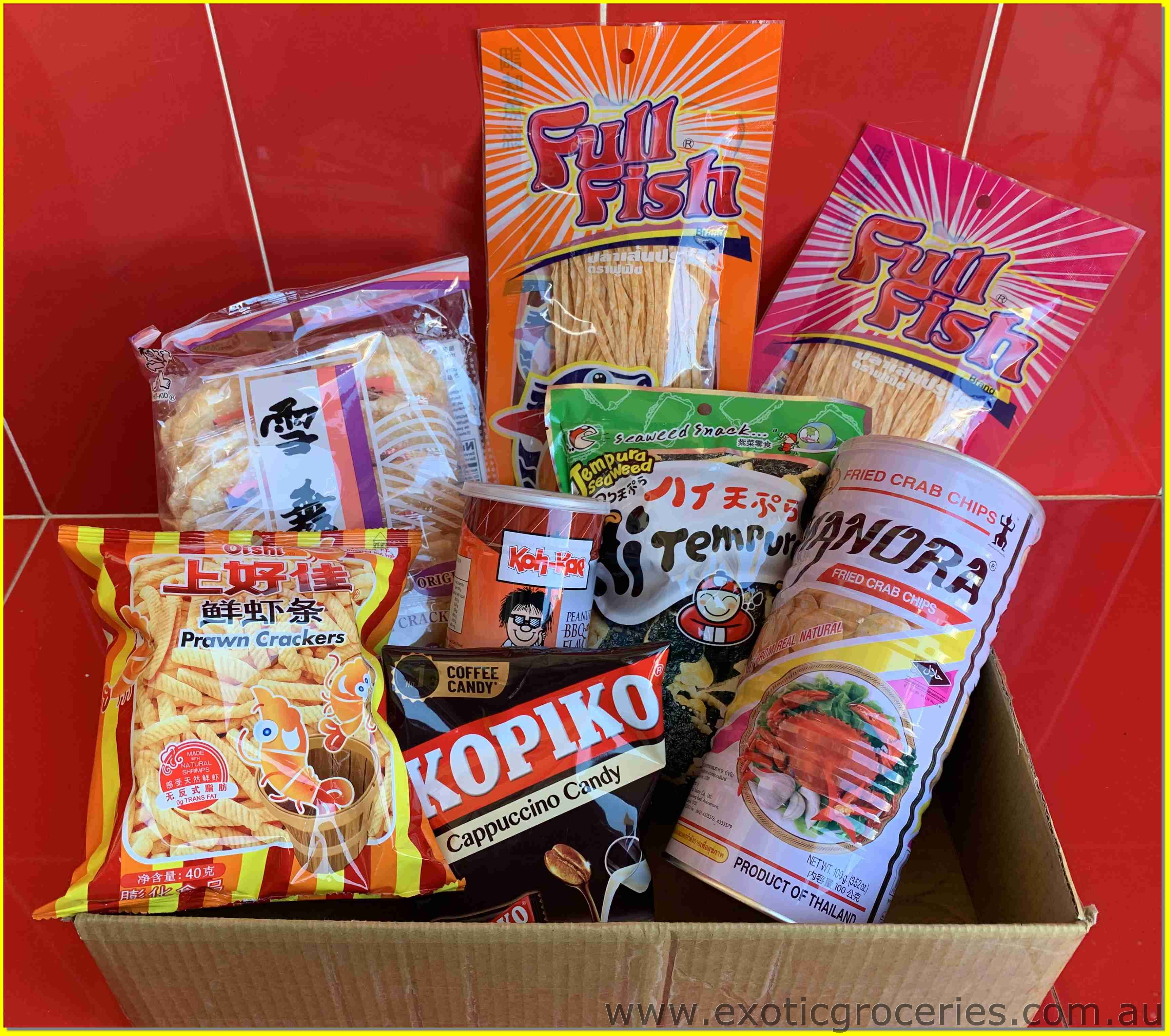 Assorted Snack Gift Box D