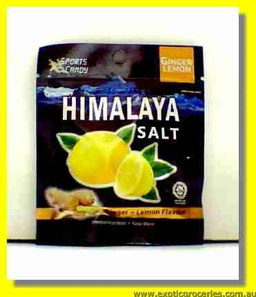 Himalaya Salt Ginger & Lemon Flavour Candy