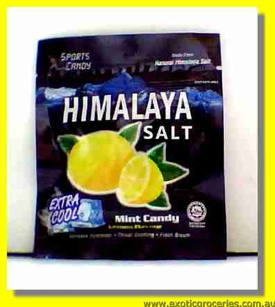 Himalaya Salt Mint Candy Lemon Flavour
