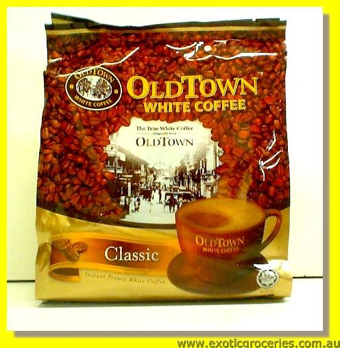 Instant White Coffee Classic 3 in 1 15sticks