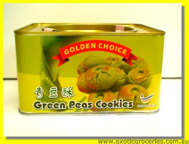 Green Peas Cookies