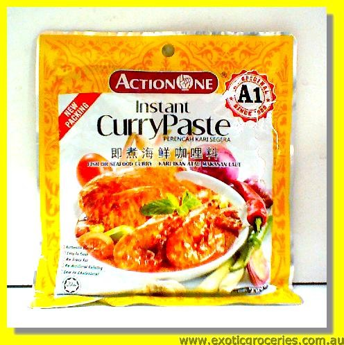 Instant Curry Mix (Fish or Seafood)