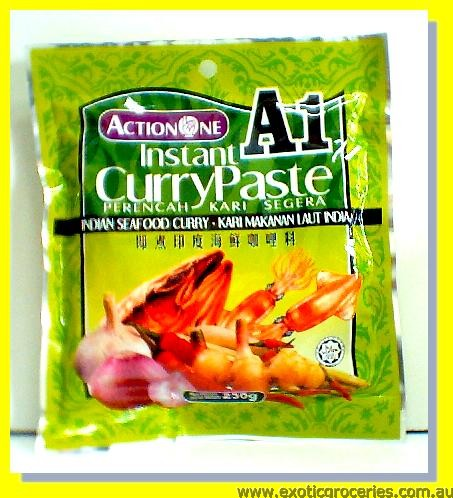 Instant Indian Seafood Curry Paste