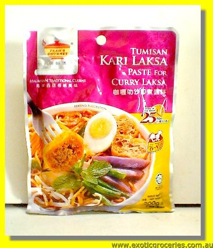 Malaysian Curry Laksa Paste
