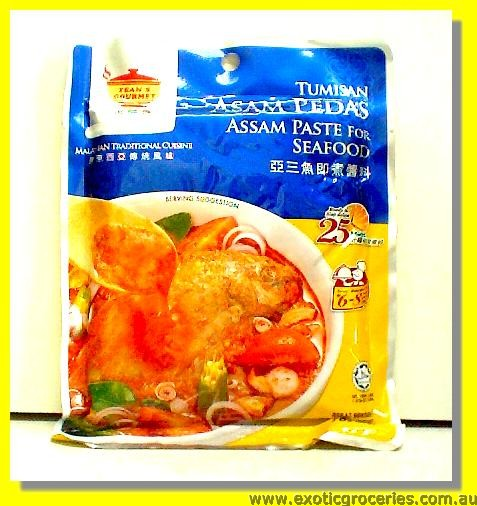 Malaysian Assam Paste for Seafood