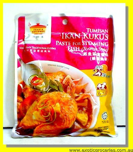Ikan Kukus Paste for Steaming Fish