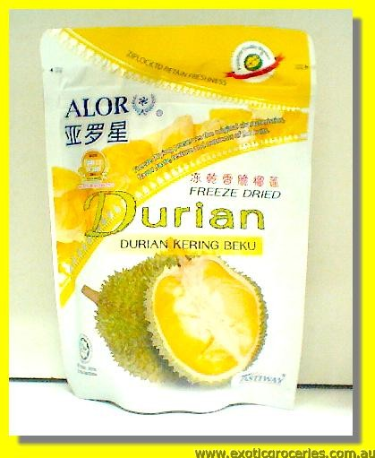 Freeze Dried Durian Kering Beku
