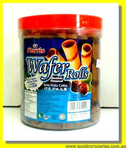 Wafer Rolls Chocolate Flavoured