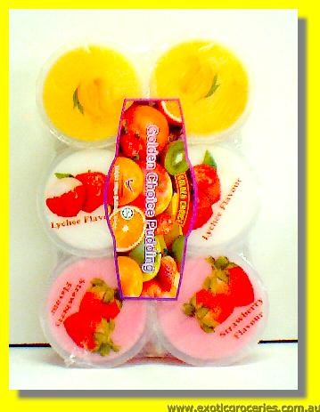 Assorted Fruit Flavour Pudding