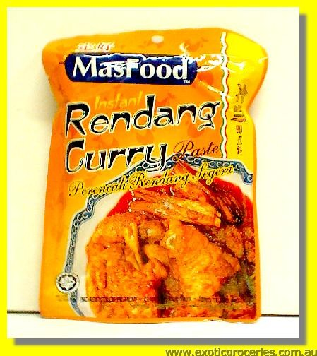 Instant Rendang Curry Paste