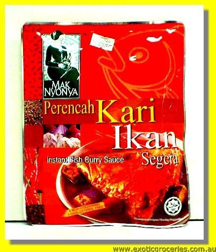 Instant Fish Curry Sauce Kari Ikan