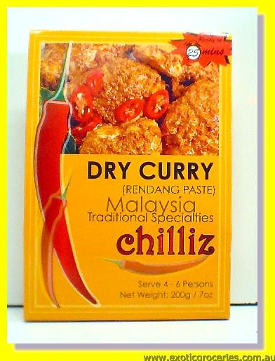 Dry Curry (Rendang Paste)