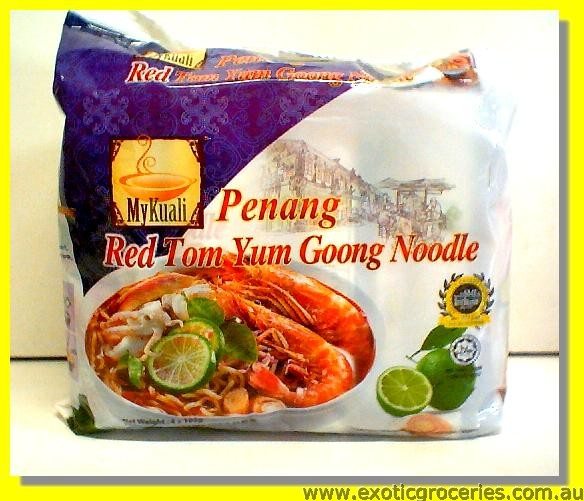 Penang Red Tom Yum Goong Noodle 4pkts