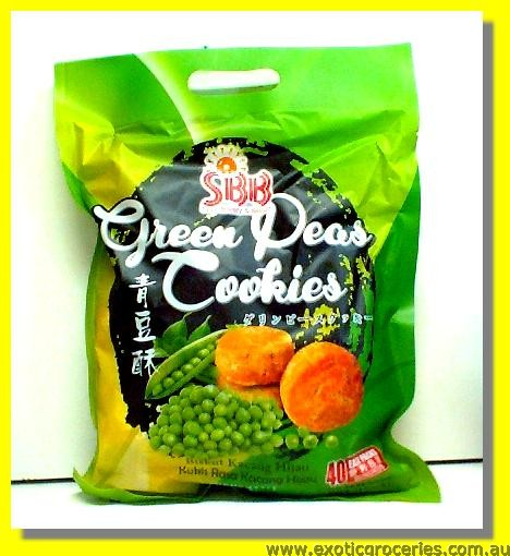Green Pea Cookies 40packs